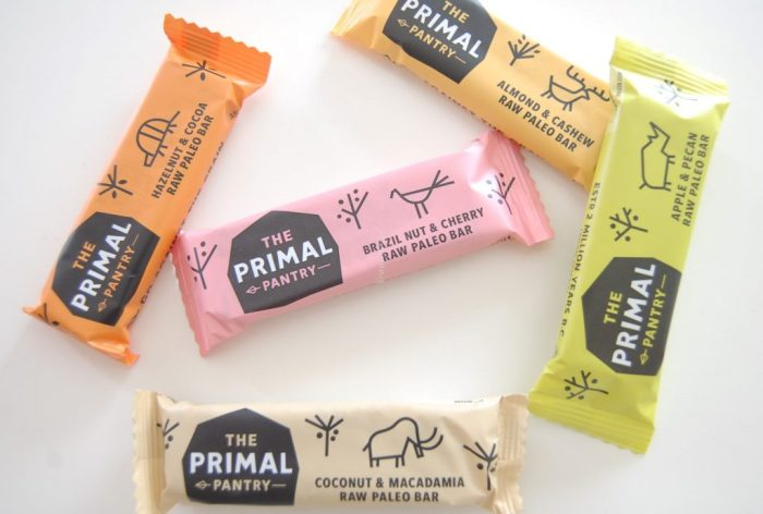 the primal pantry paleo bar flavours