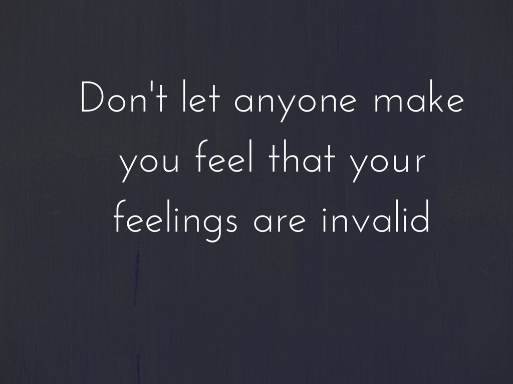 Invalidation of Feelings