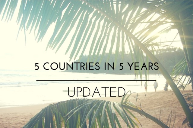 5 places in 5 years on www.majeang.com