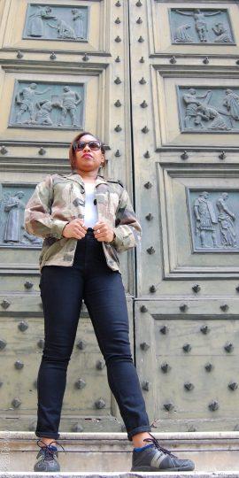 The Camo Jacket on www.majeang.com