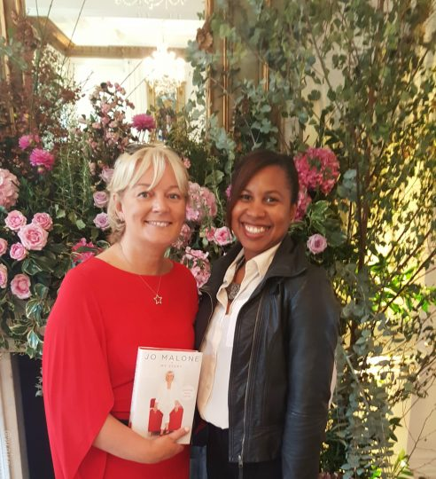 Meeting Jo Malone on helping me feel less uninspired
