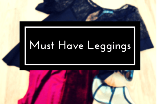 Must have holiday leggings by Miss Selfridge
