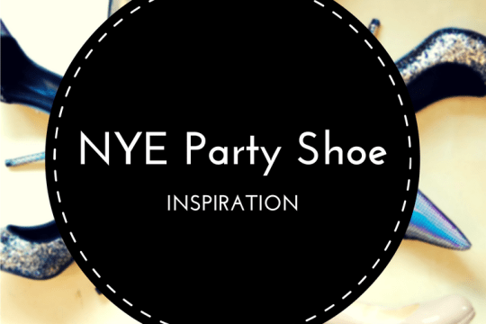 NYE party shoe inspo on www.majeang.com