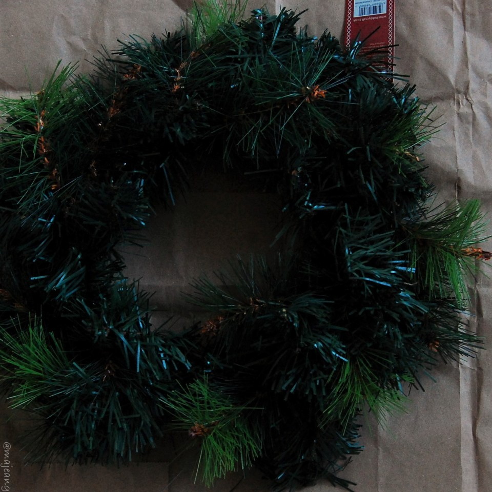 diy wreath plain wreath