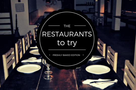 Restaurants to try