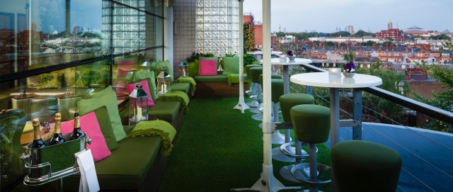 restaurants to try- Roof Gardens