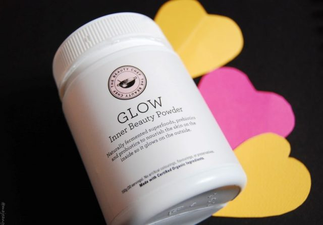pro-biotic and pre-biotic glow powder