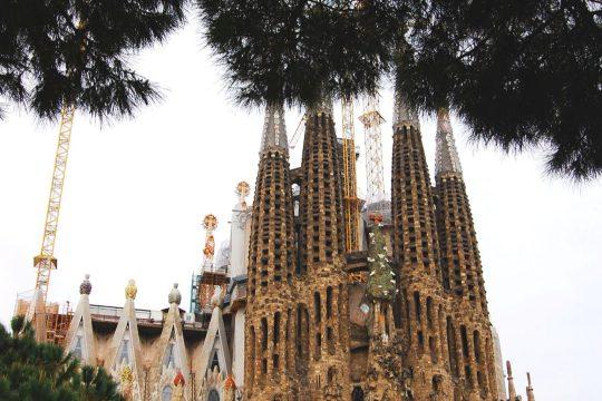 La Sagrada Familia by Gaudi, Barcelona photodiary