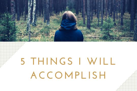 5 things I will accomplish on www.majeang.com