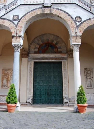 salerno cathedral main door
