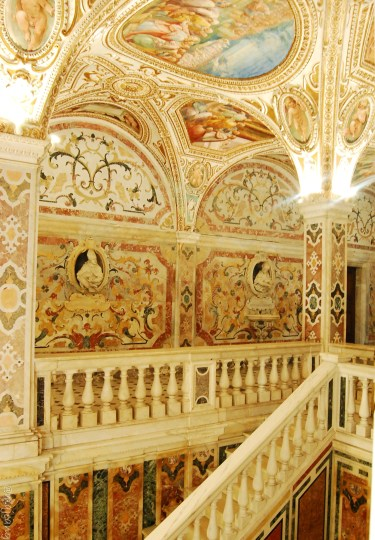 salerno cathedral crypt, stairs