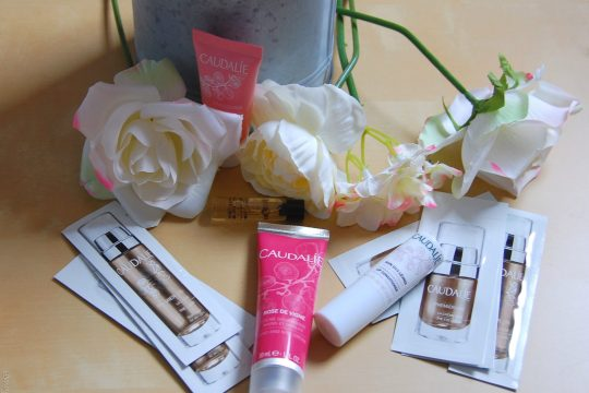 new in from caudalie- products