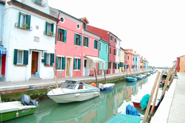 places worth visiting, Burano fishing village