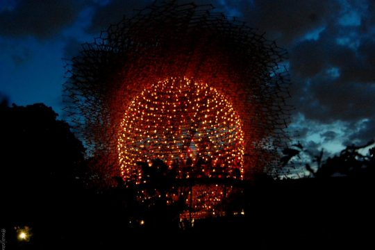 The Hive - Kew gardens night