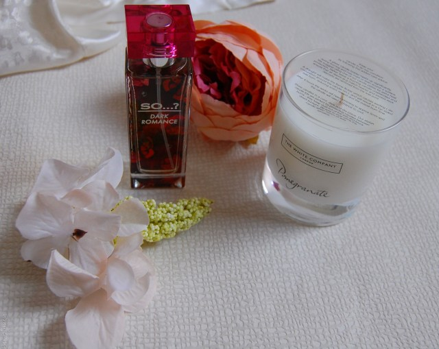 autumn scents- perfume and candle