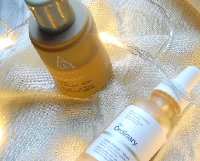 how to get glowy skin in winter- exfoliation