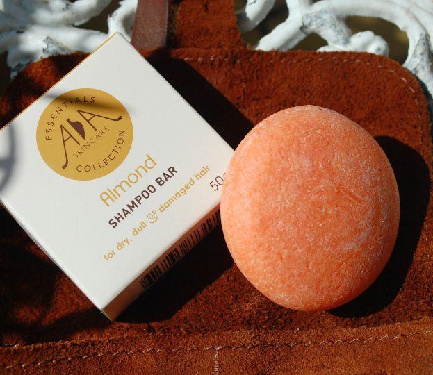 skincare on the go- AA Skincare almond shampoo bar