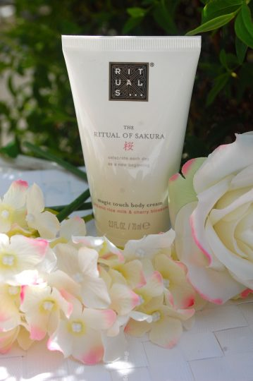 rituals sakura collection- body cream