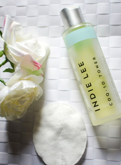 glow box by lydia millen x cult beauty- Indie Lee CoQ10 toner