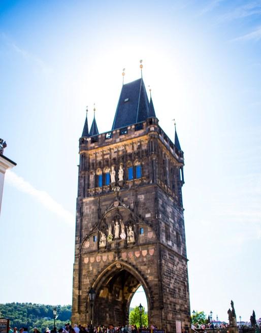 Prague - tower