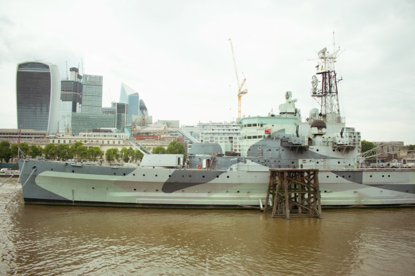 exploring london bridge challenge- hms belfast