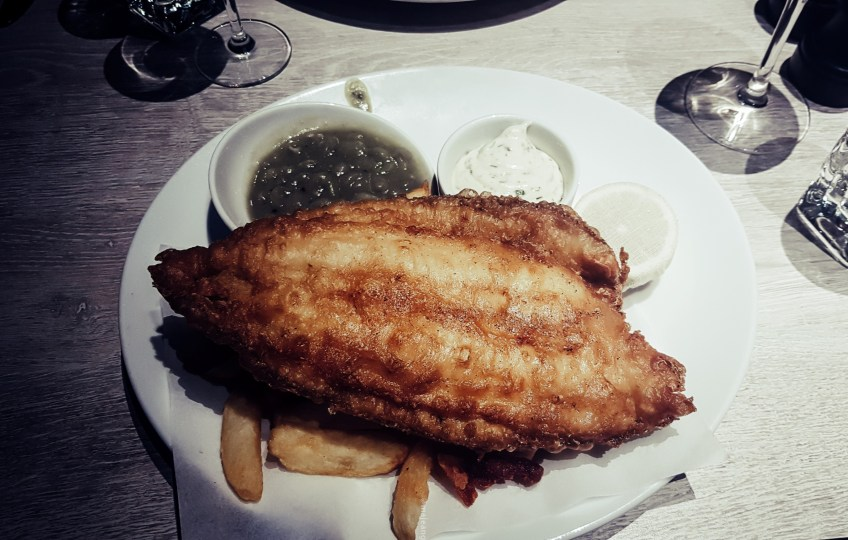 Fish! Kitchen Borough Market- posh fish and chips