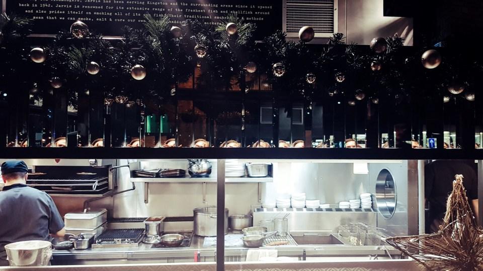 Fish! Kitchen Borough Market- kitchen