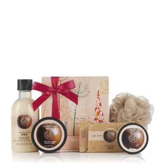 Beauty Christmas 2018 gift guide -Body Shop shea but gift guide
