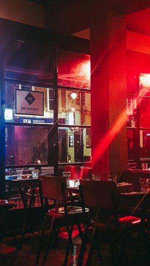 100 hoxton, tapas style- restaurant