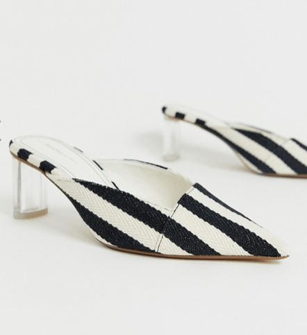 Spring fashion edit - Bershka striped mules