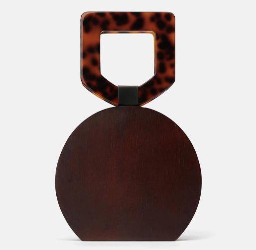 Spring fashion edit- wooden bag