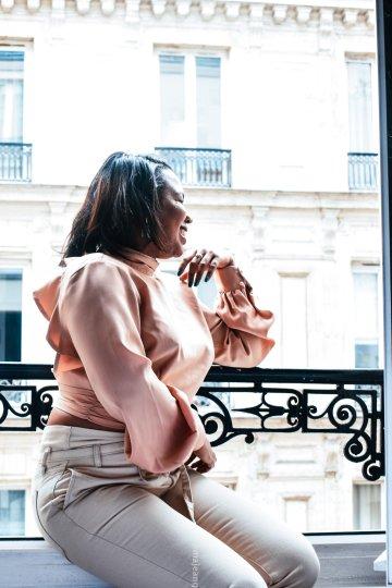 ruffles in paris- lorna luxe tops
