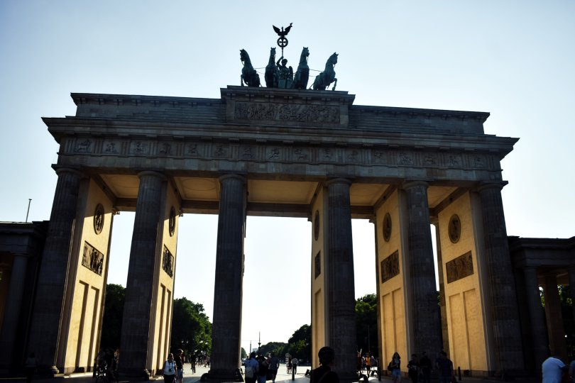 what I did in Berlin for 48 hours-Brandenburg gate, Berlin