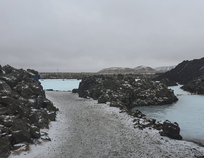 photo diary of iceland - Blue Lagoon