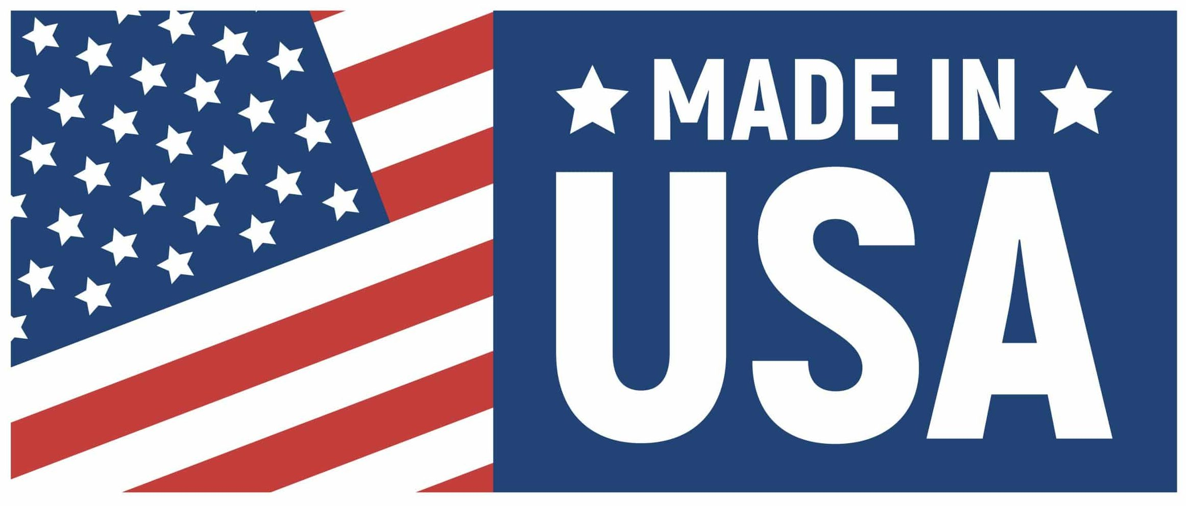 Made in USA label.