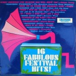 Festival - 16 Fabulous Hits - Front Cover - Temp