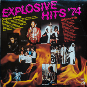 EMI - TVSS 16 - Explosive Hits 74 - Front cover