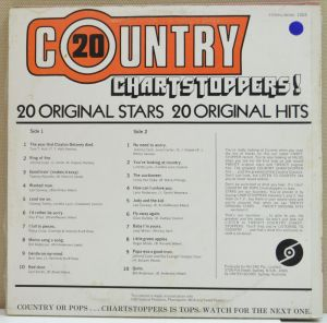 Select - 20 Country Chartstoppers - US1004- Back cover