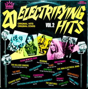 Majestic - Electrifying Hits 2 - TA241 - Front cover
