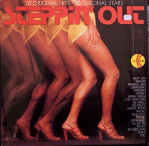 Ktel - Steppin Out - TA260 - Front cover