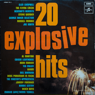 20 Explosive Hits - front cover