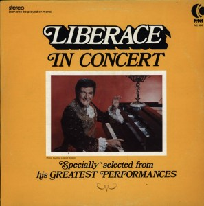 Ktel - Liberace in Concert - NC461 - Front cover