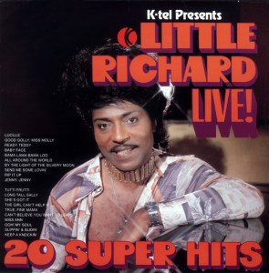 Ktel - Little Richard Live - NA490 - Front cover