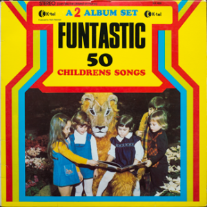 K-Tel - Funtastic - 50 Children's Songs - front cover