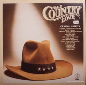 K-tel - Country Love - front cover.