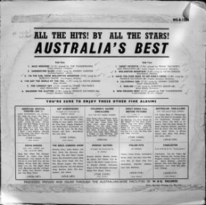 Australias Best - WGB1564B - Back Cover