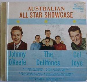 Festival - XL31063F - Australian All Star Showcase - EPs - Front cover