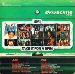 EMI - EMTV 3 - Drive Time 1 - Back cover