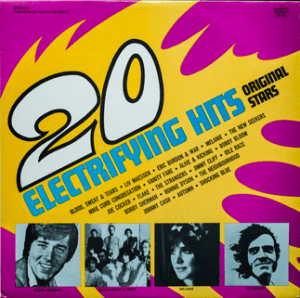 Majestic - Electrifying Hits - EH820 - Front cover
