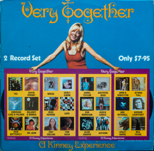 Kinney - Very Together - Front cover